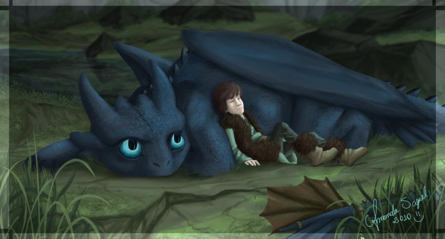 Как приручить дракона арт