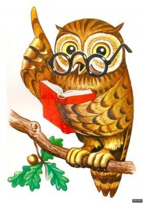 Картинка мудра сова