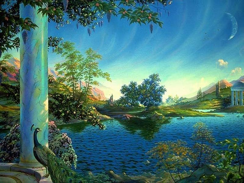 Любимые пейзажи продолжение