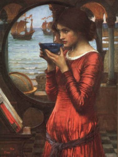 Художник Джон Уильям Уотерхауз (John William Waterhouse). Продолжение