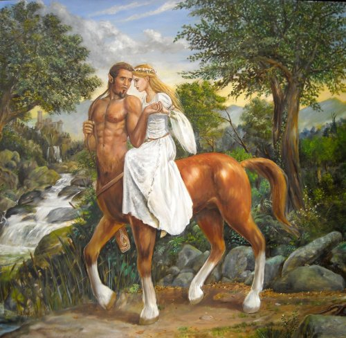 Энциклопедия мифологии 1271841036_the_last_centaur_painting_by_dashinvaine