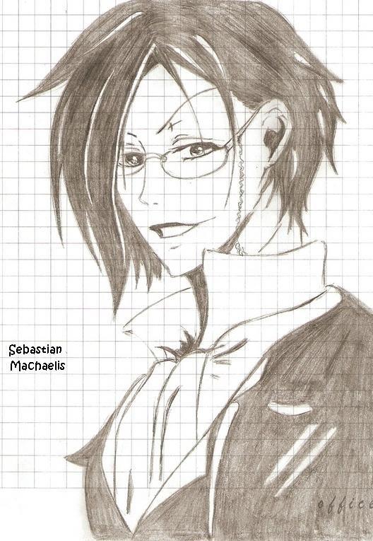 Картинки аниме для срисовки карандашом - d8394