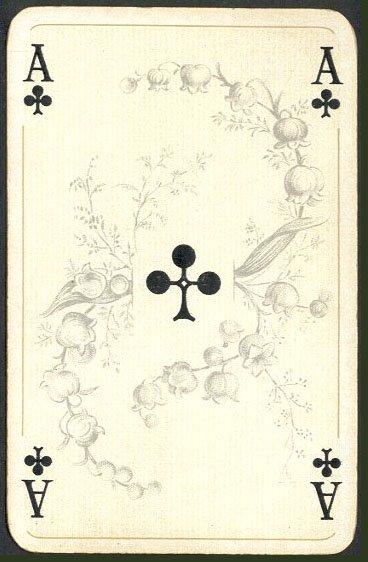 Игральные карты в викторианском духе. 2-я колода. По секрету всему свету