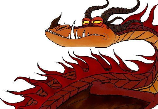 Ужасное чудовище как приручить дракона картинки 3