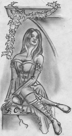 рисунок невеста: