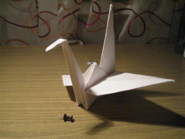 Оригами Инструкция Журавль