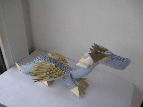 Оригами схемы для начинающих дракон.