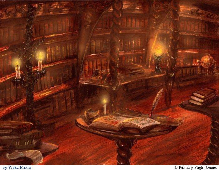 Об этом я сейчас и мечтала. Библиотека. Старинная. Именно здес…