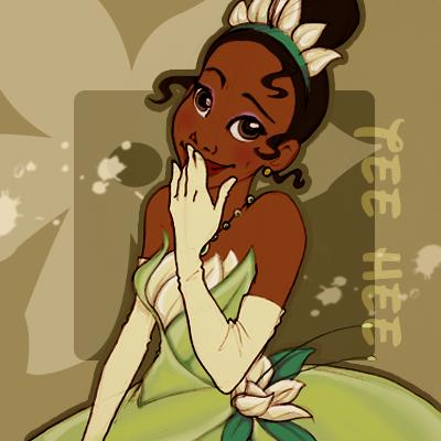 Тиана- героиня мультфильма Принцесса и лягушка .