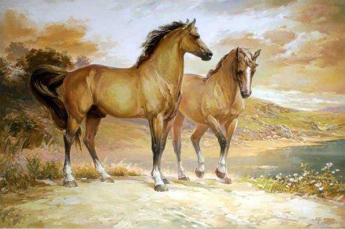 Прости, Господь, но мне не надо рая, Если в раю не будет лошадей.