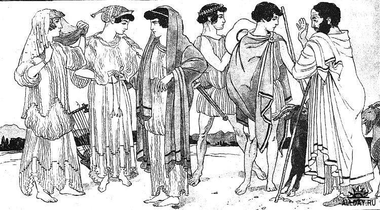 Картинки людей древней греции 3