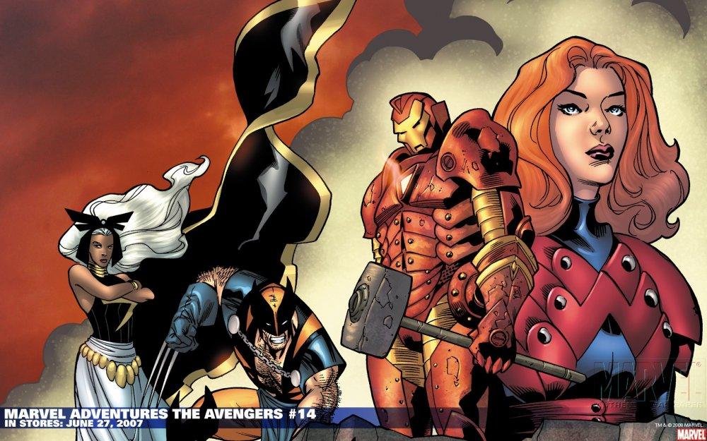 Обложки комиксов marvel за 2007 год часть4