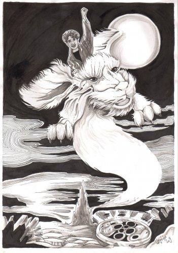 Фалькор, Дракон Удачи
