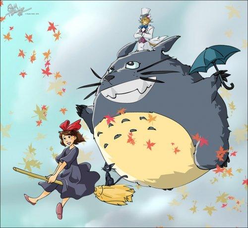 """Добрые сказки от """"Studio Ghibli""""."""