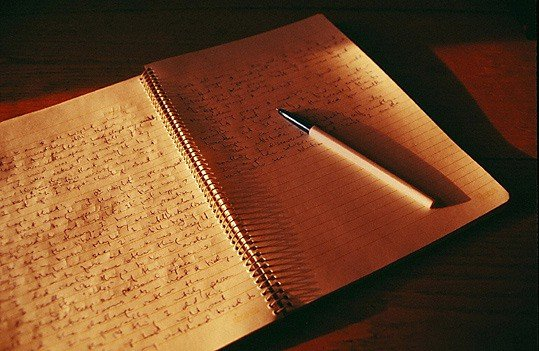 ...подряд не брали заветную книжечку в руки - вести личный дневник или нет - дело не.