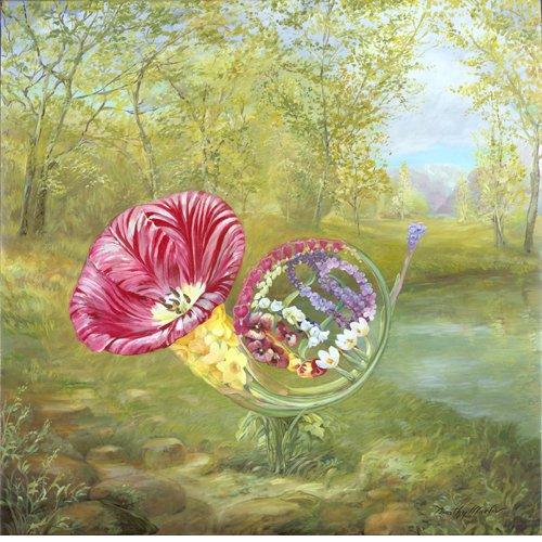 Цветущие предметы Тимоти Мартина.