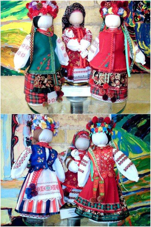 Кукла своими руками украинская фото