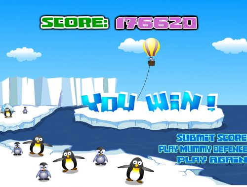 "Флеш-игра ""Penguin War"""