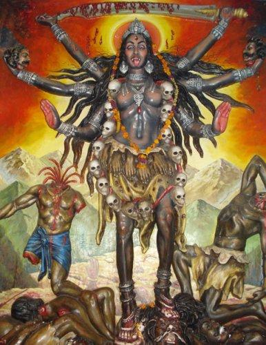 Кали - черная матерь Индии