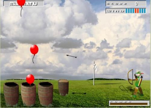 "Флеш-игра ""Balloon Hunter"""