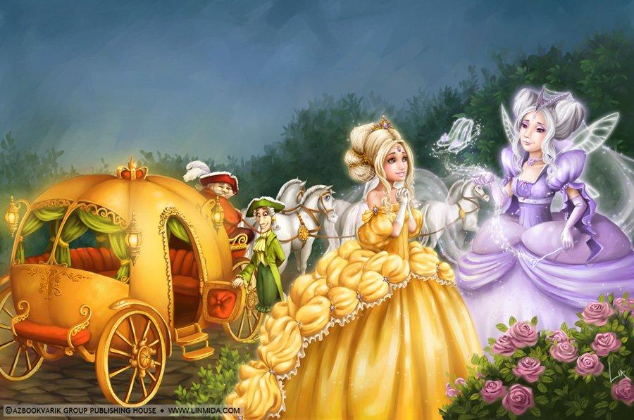 сказки волшебные с картинками