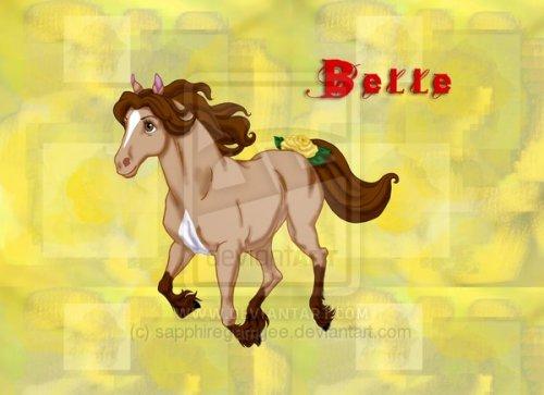 Принцессы Диснея 1292956360_belle_by_sapphiregamgee-duidhb