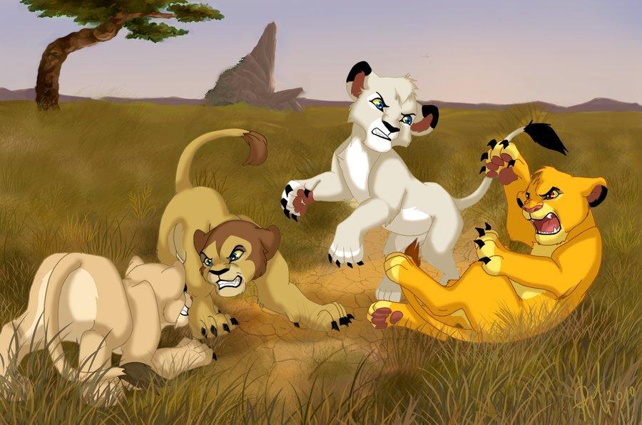 мультики про левів