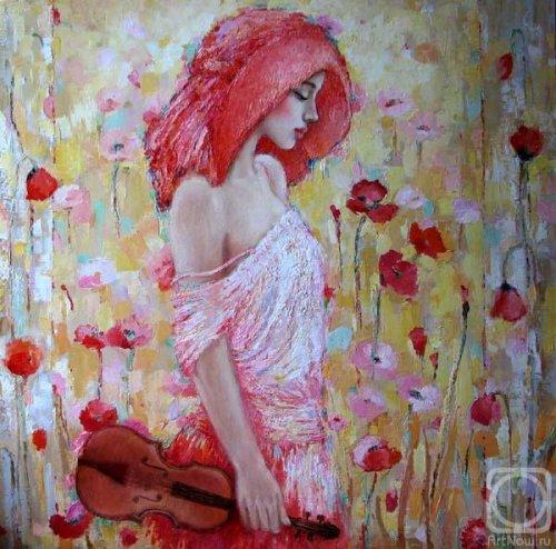 Женские образы в современной живописи