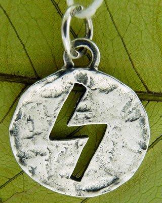 круглый медальон золото серебро со знаком задиака