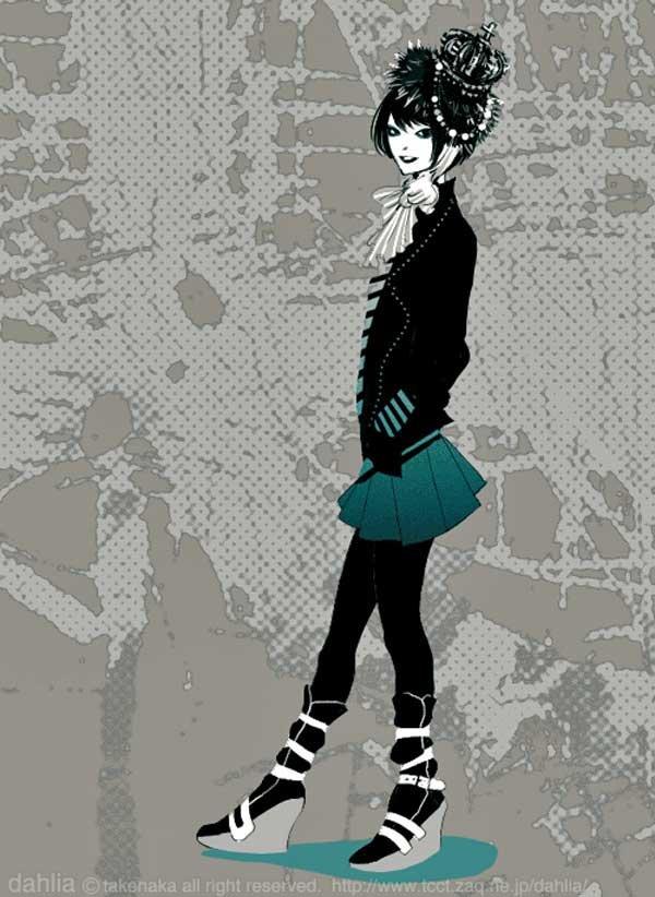 Топ 25 любимых аниме-персонажей Разместил.