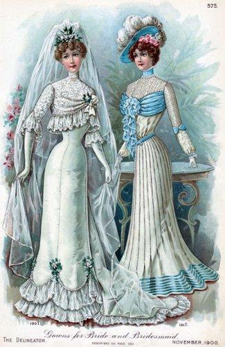 Прекрасны невесты во все времена!