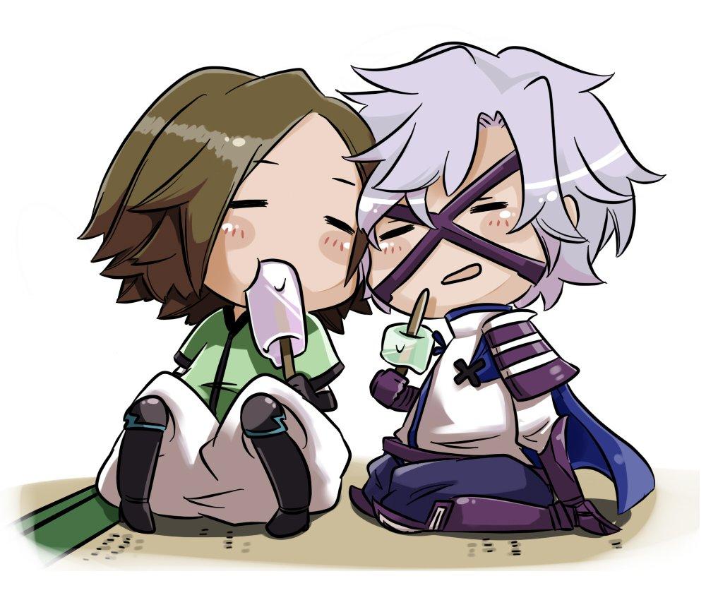 Любимые герои игр и аниме ханбей