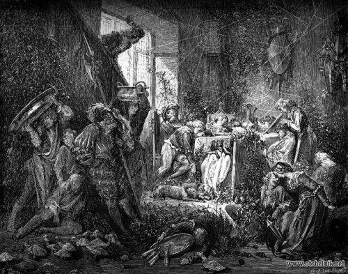 Gustave dore иллюстрации к сказкам шарля