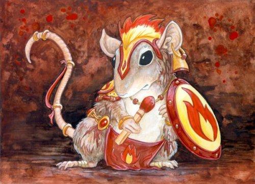 Крысы и мыши, как мы (23 фото)