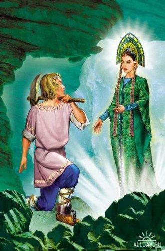 """Схемы вышивки  """"хозяйка медной горы """" (стр. 1) - Вышивка крестом."""
