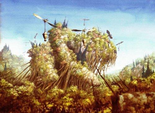 Кодама: духи леса