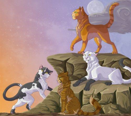 Коты воители кровавое полнолуние