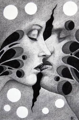 картинки, рисунки карандашом абстрактные. картинки, рисунки карандашом