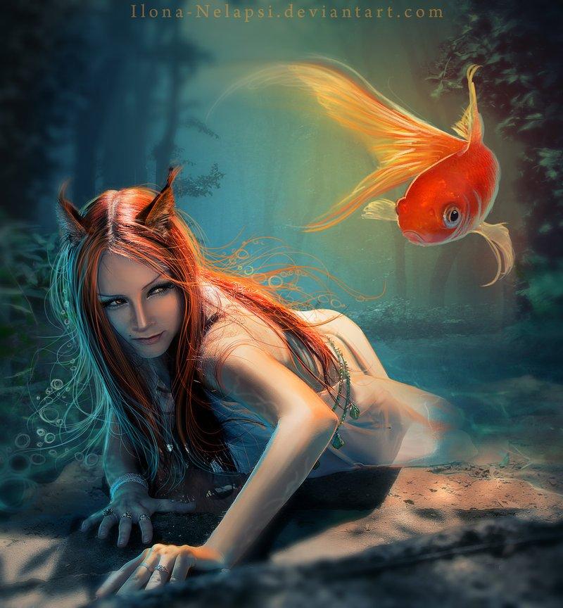 Красивые фентези картинки 1314045263_hunter_by_ilona_nelapsi-d3dk6sp