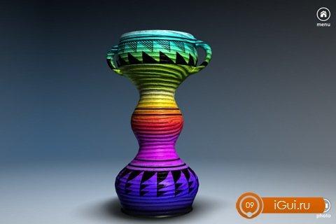 игра лепить вазу на андроид