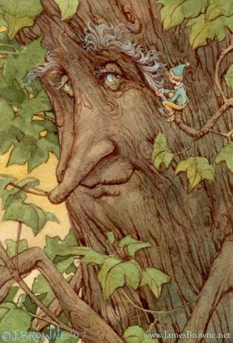 Иллюстрации к сказкам художника James Browne.  Дина.  21.09.2011.