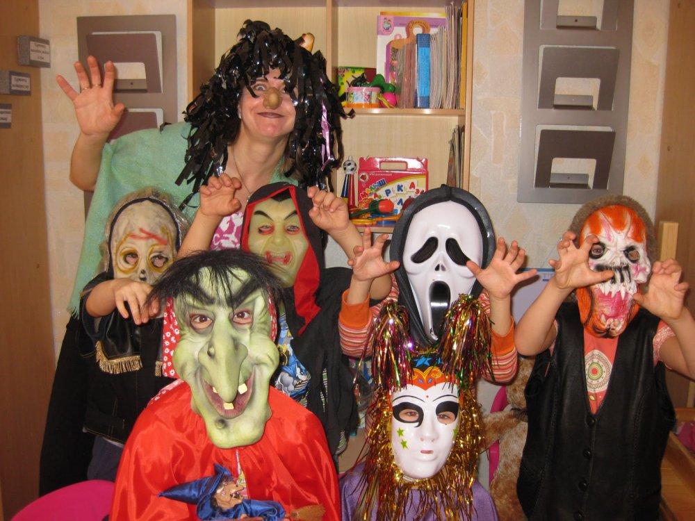 Хэллоуин фото в домашних условиях