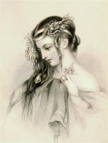 Героини У.Шекспира в старых английских гравюрах