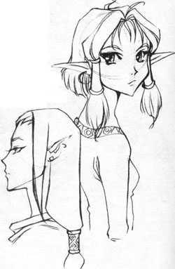 Как нарисовать эльфа?