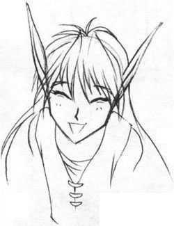 Как нарисовать девушка эльфа