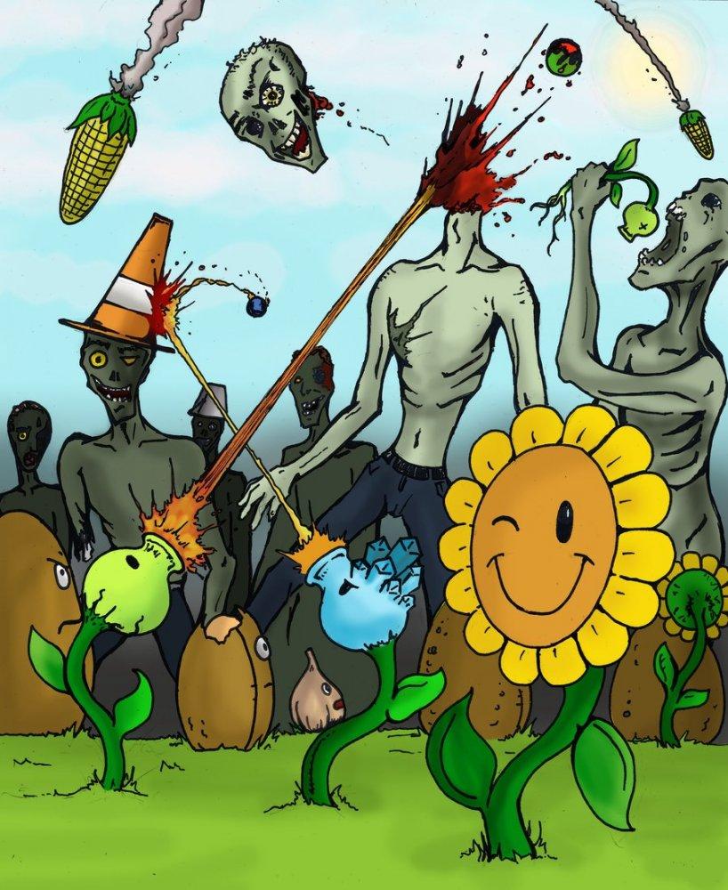 Зомби против растений скачать зомби
