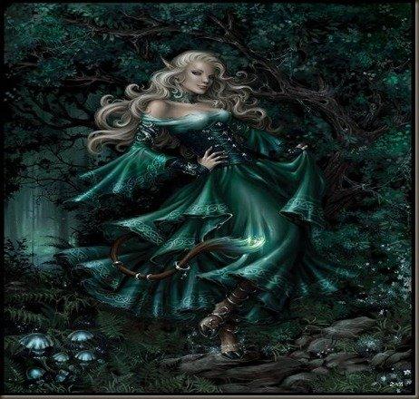 Баггейн и Глейстиг. Кельтская мифология