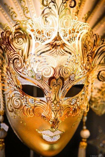 Маски карнавальные венецианские своими руками