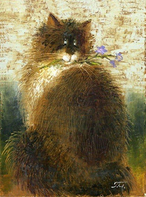 сочинение кошка божество или друг человека