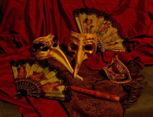 Венецианские карнавальные маски - Нелепые факты - photo#46
